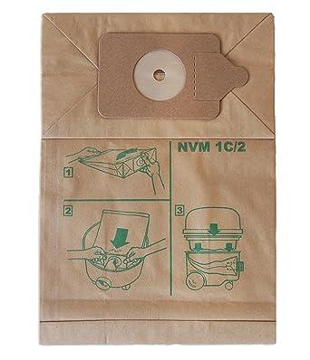 /Bolsas para aspiradora para x10/ 200/Series, Henry, Hound, Micro y James, Numatic nvmic/
