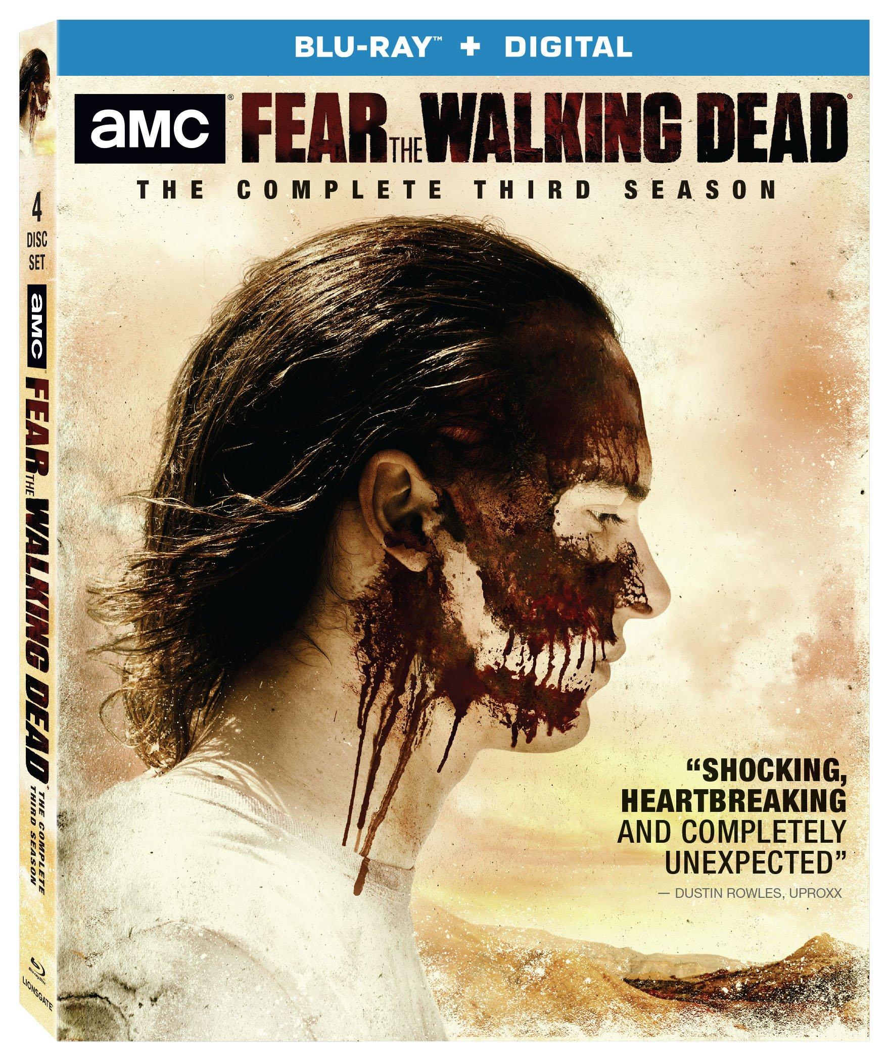 Fear the Walking Dead: Season 3 (Boxed Set, 4PC)