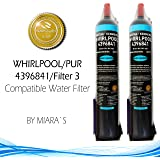 MIARA`s Water Filter Replacement For 4396841,4396710/ Kenmore 46-9030 / Many More (2-Pack)