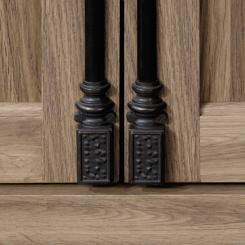Salt Oak finish 78.90 Sauder 418891 Barrister Lane Bedroom Armoire 40.91 x W 21.42 x H L