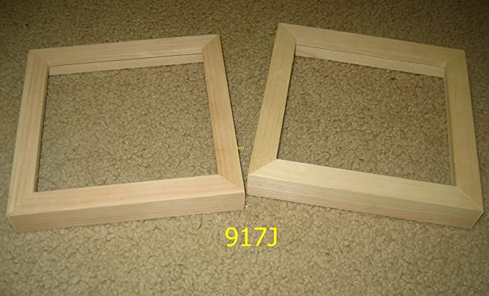 Amazon Two 6x6 Picture Frames With Deep Rabbet For Canvases