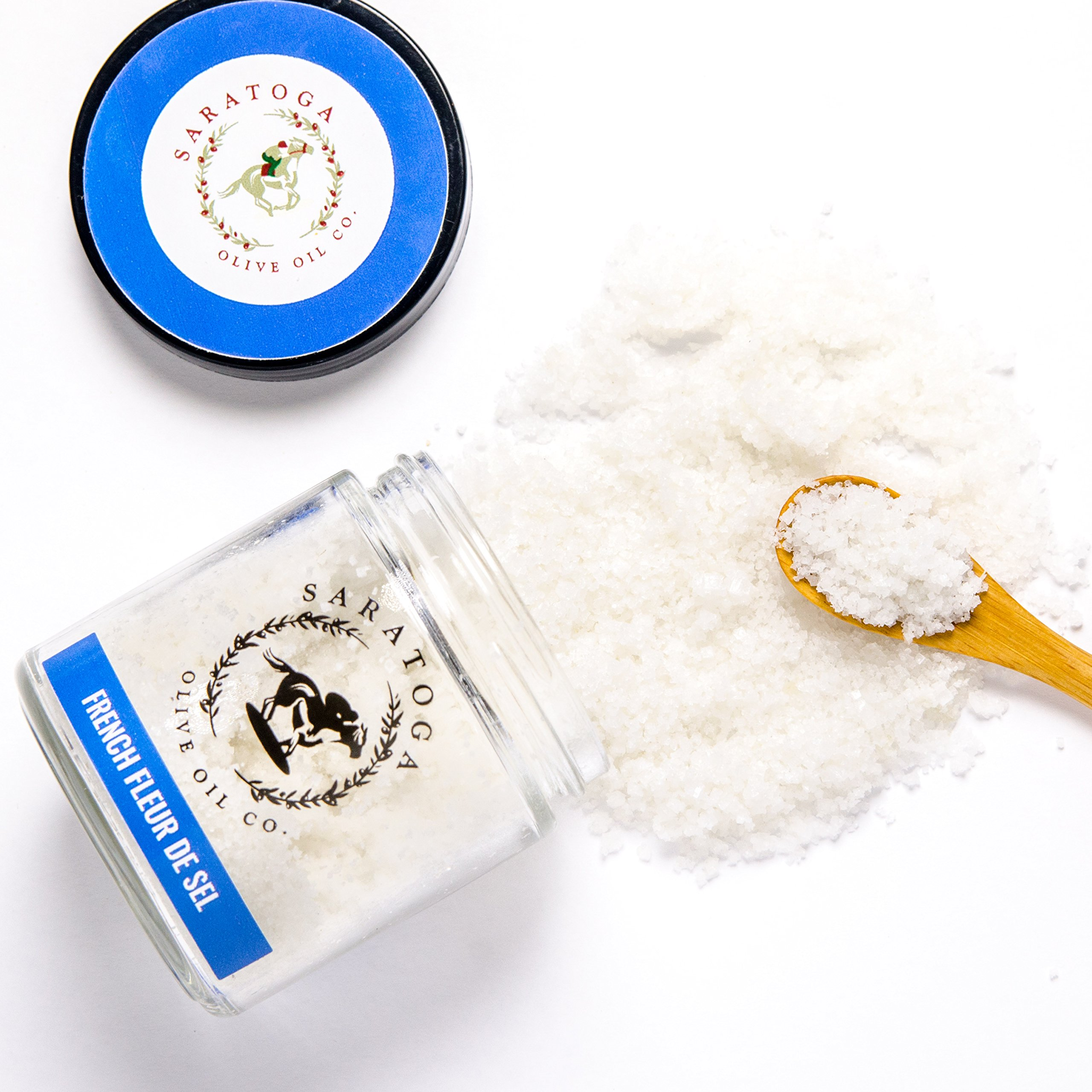 Saratoga Olive Oil Company French Fleur De Sel Sea Salt