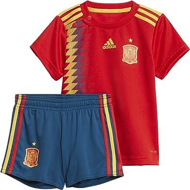 adidas Federación Española de Fútbol Conjunto, Bebé-Niños: Amazon.es: Ropa y accesorios