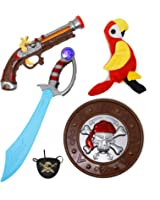Joyin Toy 5 Pieces Pirate Costume Accessory Toy Set