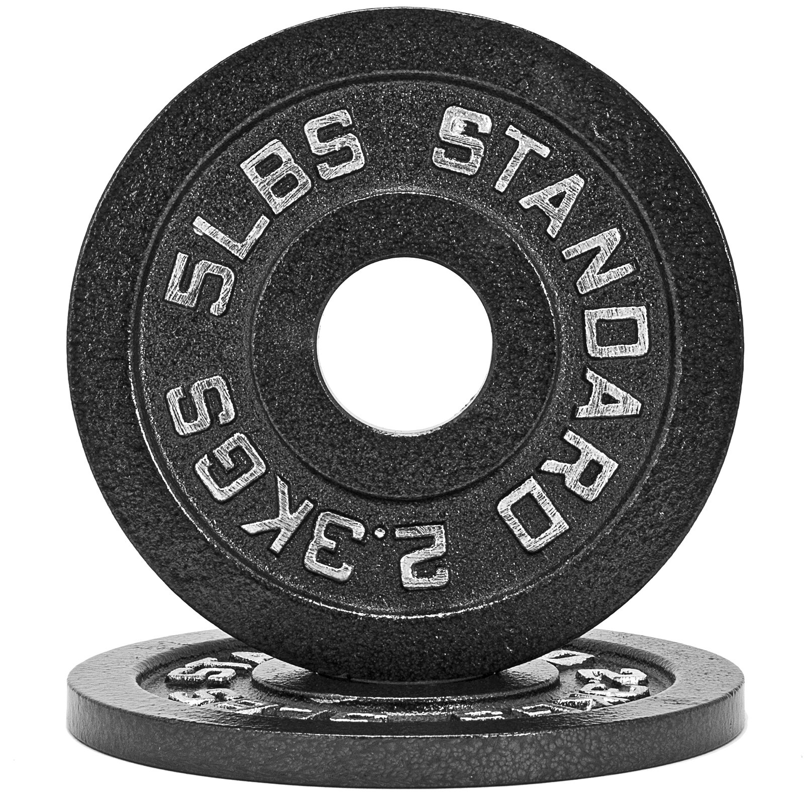 Fringe Sport 1.25lb - 45lb Iron Weight Plate Pairs/Weightlifting, Powerlifting, Other Strength Training Equipment (5)