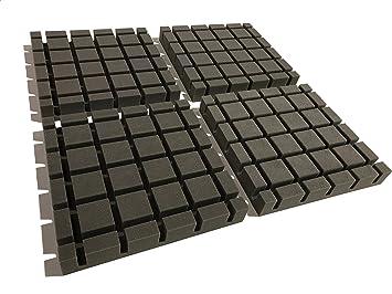 "Acústica Avanzada 15 ""Cube ((12 unidades) de espuma acústica Studio tratamiento"