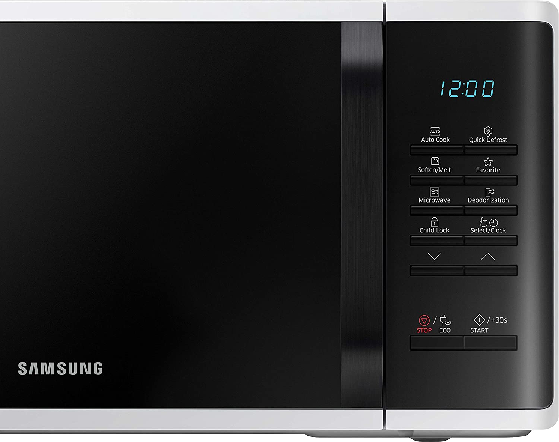 Samsung MS23K3513AW/EG - Microondas (Encimera, Solo microondas, 23 ...