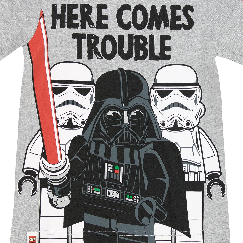 8da2247b6 LEGO Star Wars Boys Star Wars Darth Vader T-Shirt Ages 4 to 13 Years:  Amazon.co.uk: Clothing