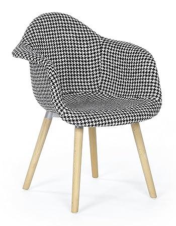 Ts Ideen Design Klassiker Sessel Retro 50er Jahre Barstuhl Pied De