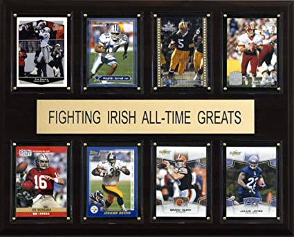 NCAA Football Notre Dame Fighting Irish All-Time Greats Plaque