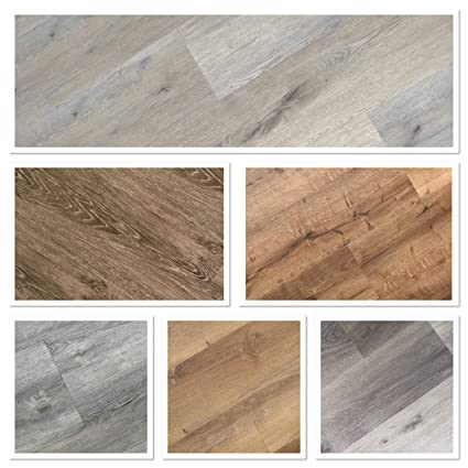 Sample Pack Rigid Core Click Vinyl Flooring Click Lvt With Pre