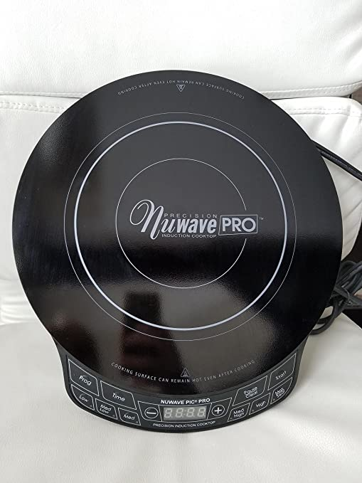 Amazon Nuwave Pic Pro Highest Powered Induction Cooktop 1800w