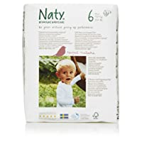 Naty by Nature Babycare Size 6 Nappies - (Pack of 4, Total of 72)