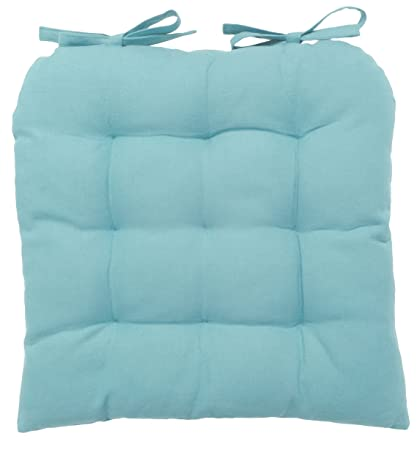 Amazon Now Designs Spectrum Chair Pad Turquoise Home Kitchen