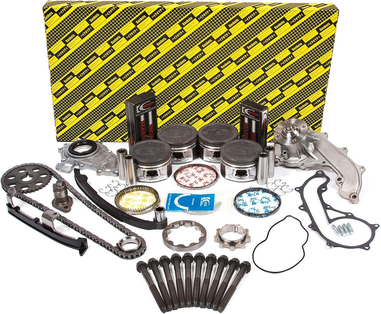 95-04 TOYOTA TACOMA 2.4L 2RZFE DOHC ENGINE COMPLETE MASTER ENGINE REBUILD KIT