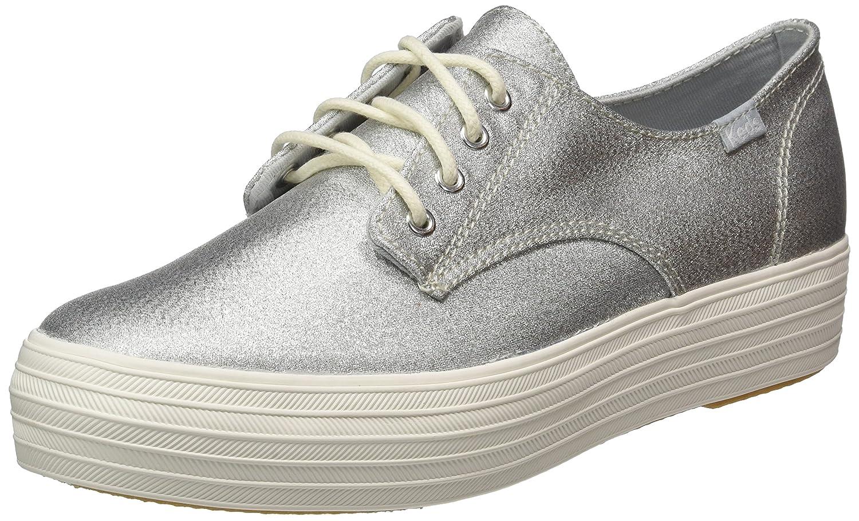 Keds Tpl Bella Lurex - Zapatos Mujer 40.5 EU|Plateado (Silver)