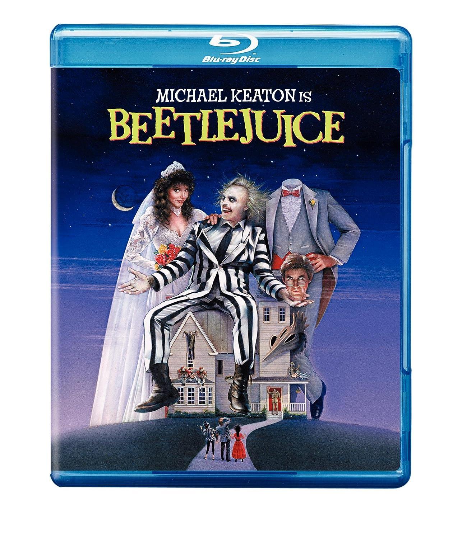 Beetlejuice / Bételgeuse (Bilingual) [Blu-ray] Michael Keaton Alec Baldwin Geena Davis Winona Ryder