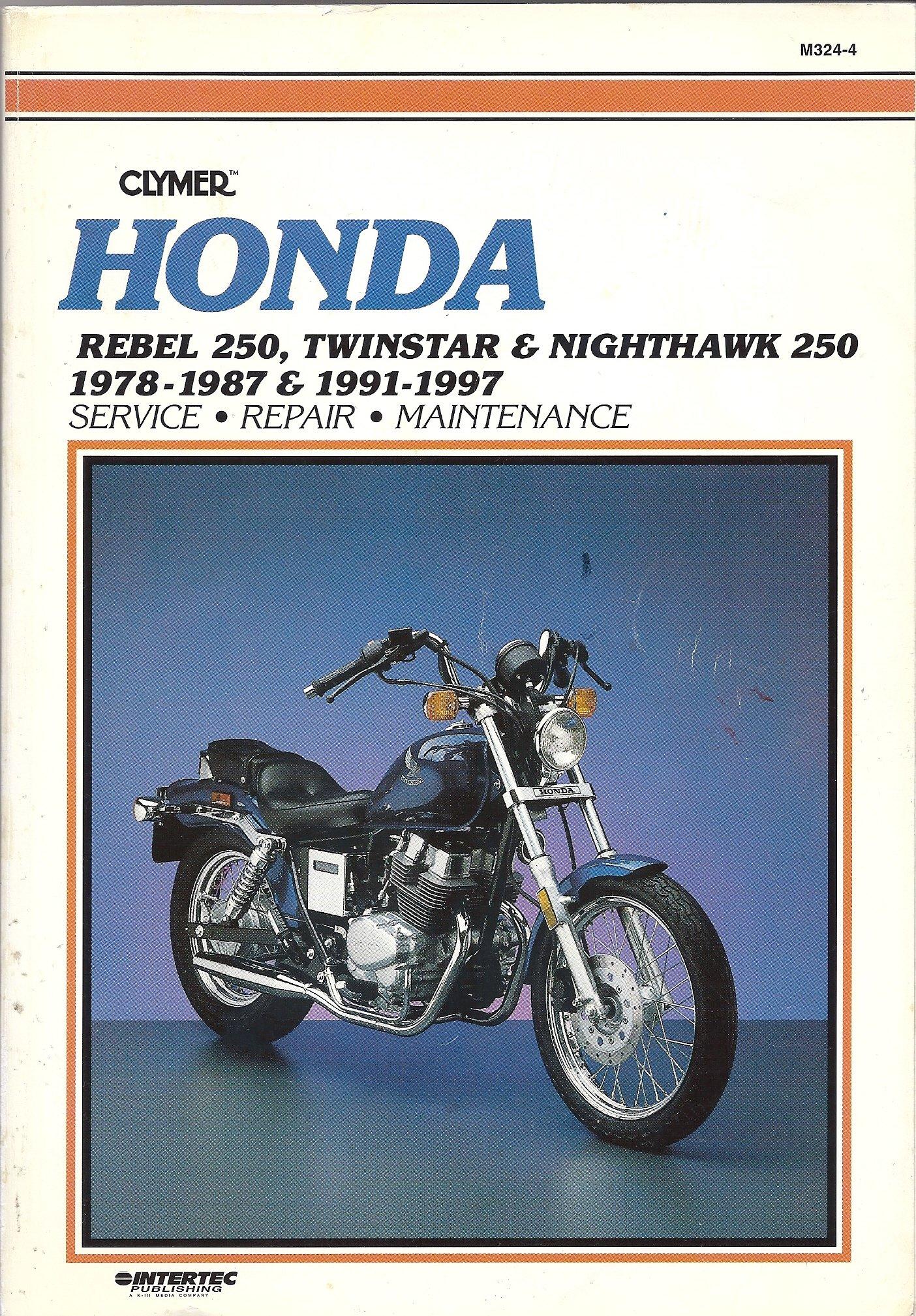 honda rebel 250 twinstar nighthawk 1978 1997 1991 1997 ed rh amazon com Honda Twinstar Motorcycle 1981 Honda Twin Star