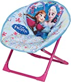 Disney Designs Frozen Moon Chair with Material Finish, 50 x 50 x 46 cm, Blue
