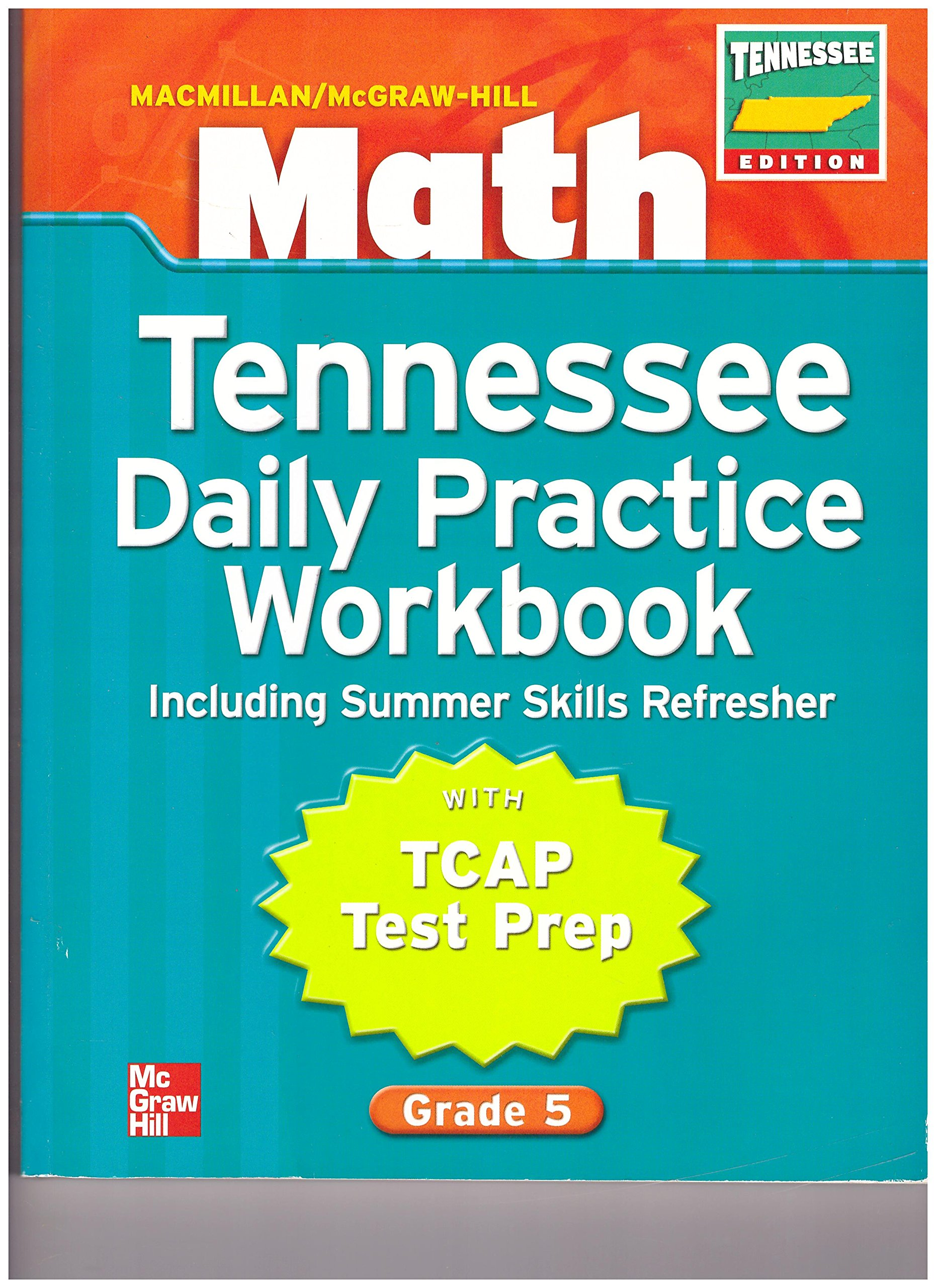 Grade 5 Math Tennessee Daily Practice Workbook With Tcap Test Prep