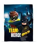 Lego Coperta Grande in Pile con Stampa Batman Il Film