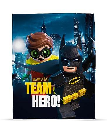 Amazon.com: Lego Batman Movie Hero Fleece Blanket: Home & Kitchen