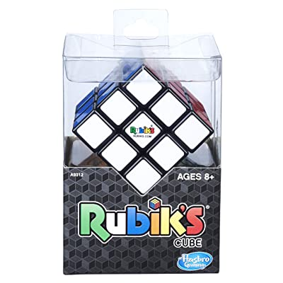 Hasbro Gaming Rubik's 3X3 Cube, Puzzle Game, Classic Colors: Toys & Games