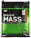 Optimum Nutrition Serious Mass Gainer Protein Powder, Chocolate Peanut Butter, 12 Pound