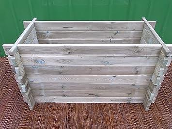 Bihl Stabiles Hoochbeet Komposter Kompostbehalter Hochbeet 120 X 60