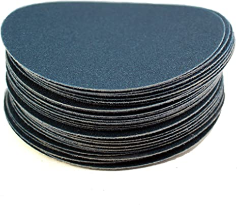 Pack of 25 Sungold Abrasives 05062 PSA Sticky Back No Hole 36 Grit Eclipse Film Sanding Discs Stearated with Aluminum Oxide 5