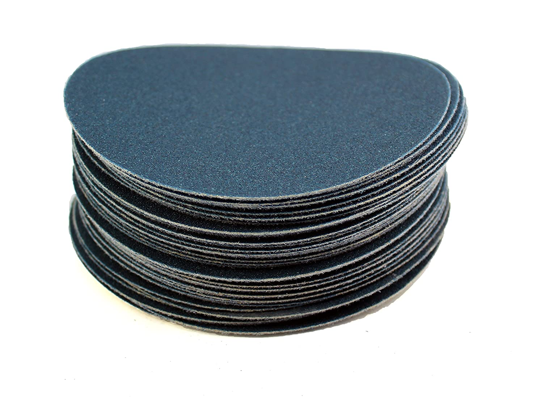 Blue 5 Sungold Abrasives Karebac 5vdz120 120 Grit Heavyweight Zirconia Hook and Loop Discs 5