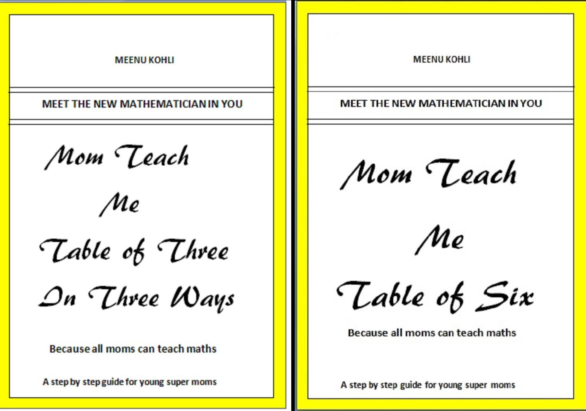Mom Teach Me (2 Book Series)