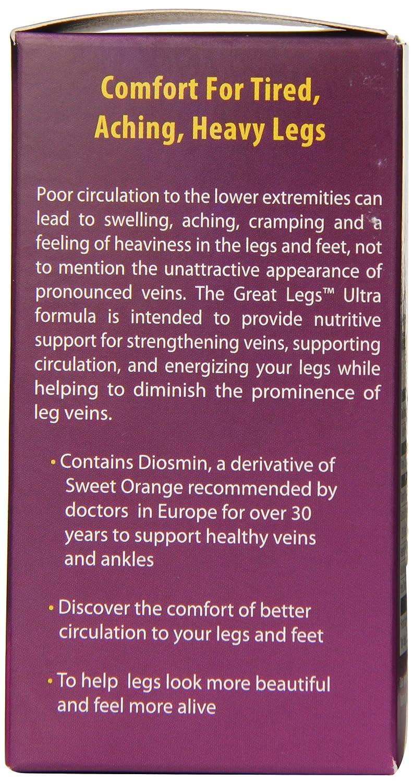 Natural Balance Grandes piernas verduras Ultra cápsulas, cuenta 60: Amazon.es: Salud y cuidado personal