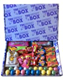 Toot Sweets The Sweet Box Bubble Gum Chewing Gum Mixed Sweets Retro Gift Box