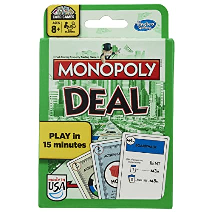 Amazon Monopoly Deal Card Game Exclusive Toys Games