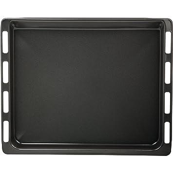 Bosch 574909 - Bandeja para el horno, color negro