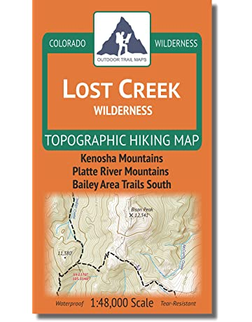 Camping & Hiking Topographic Maps | Amazon com