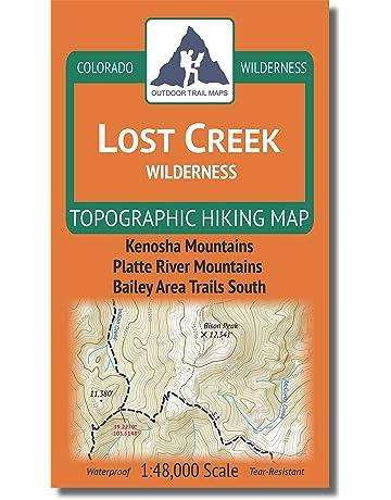 Camping & Hiking Topographic Maps | Amazon com
