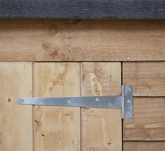 6 x 3 Cobertizo de madera para jardín. Cuenta con Puertas ...