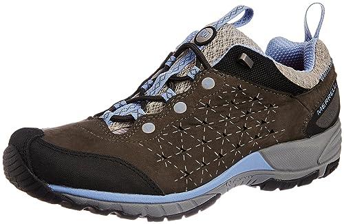 Zapatos grises Merrell para mujer PHntazsycJ