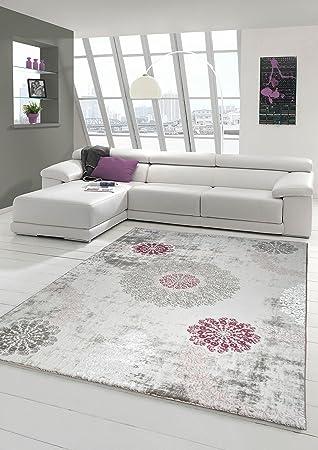 Designer Teppich Moderner Teppich Wollteppich mit Ornamente ...