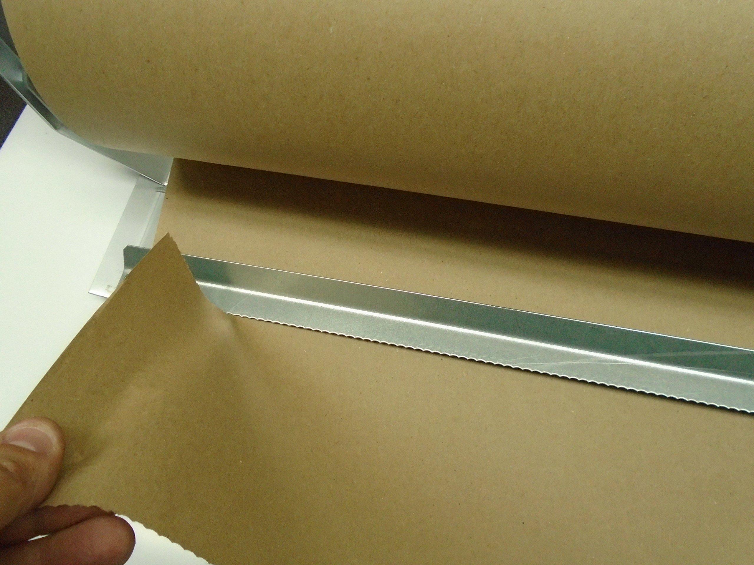 Paper Cutter Roll Dispenser Econoline 60 inches table mount Kraft paper Duralov by Duralov (Image #8)