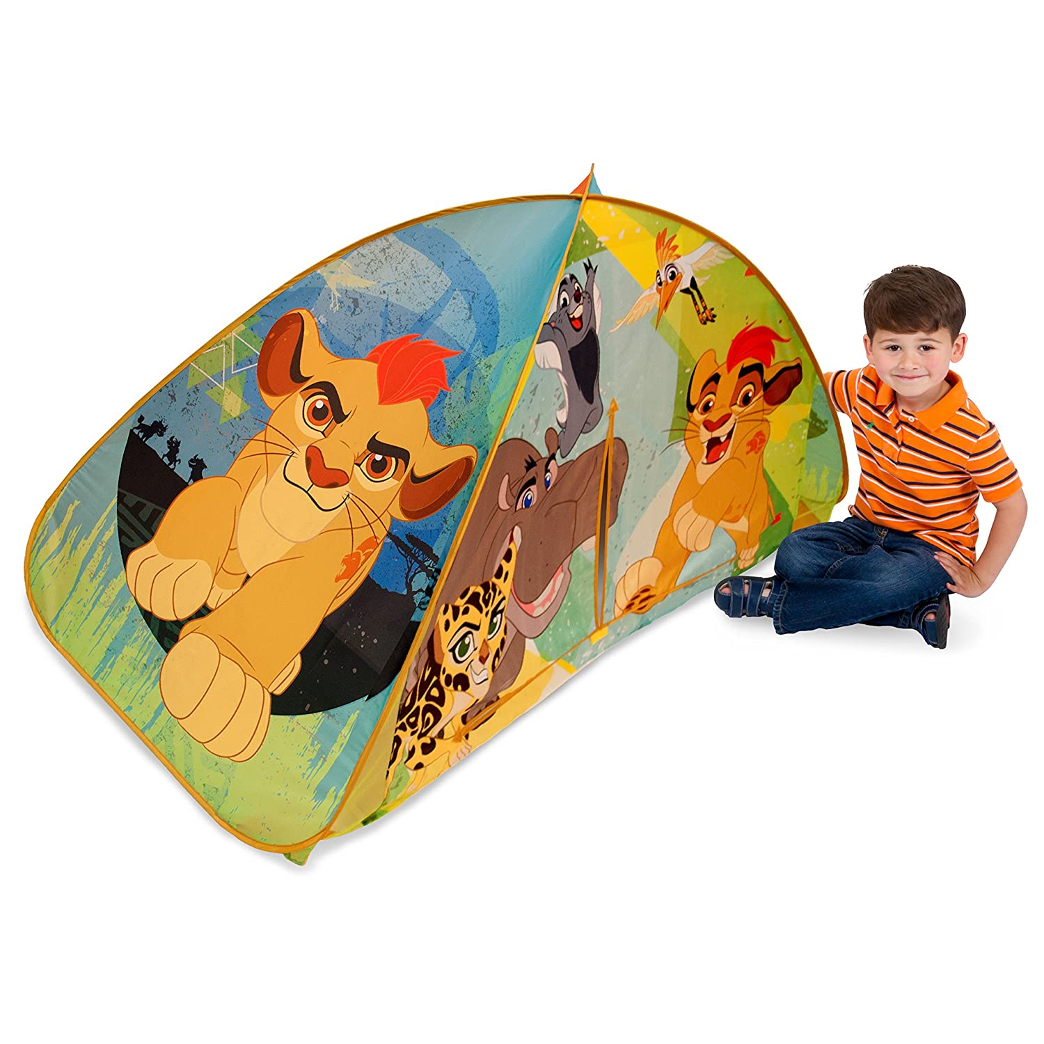 sc 1 st  Amazon.com & Amazon.com: Playhut Lion Guard 2-in-1 Bed Tent Green: Toys u0026 Games