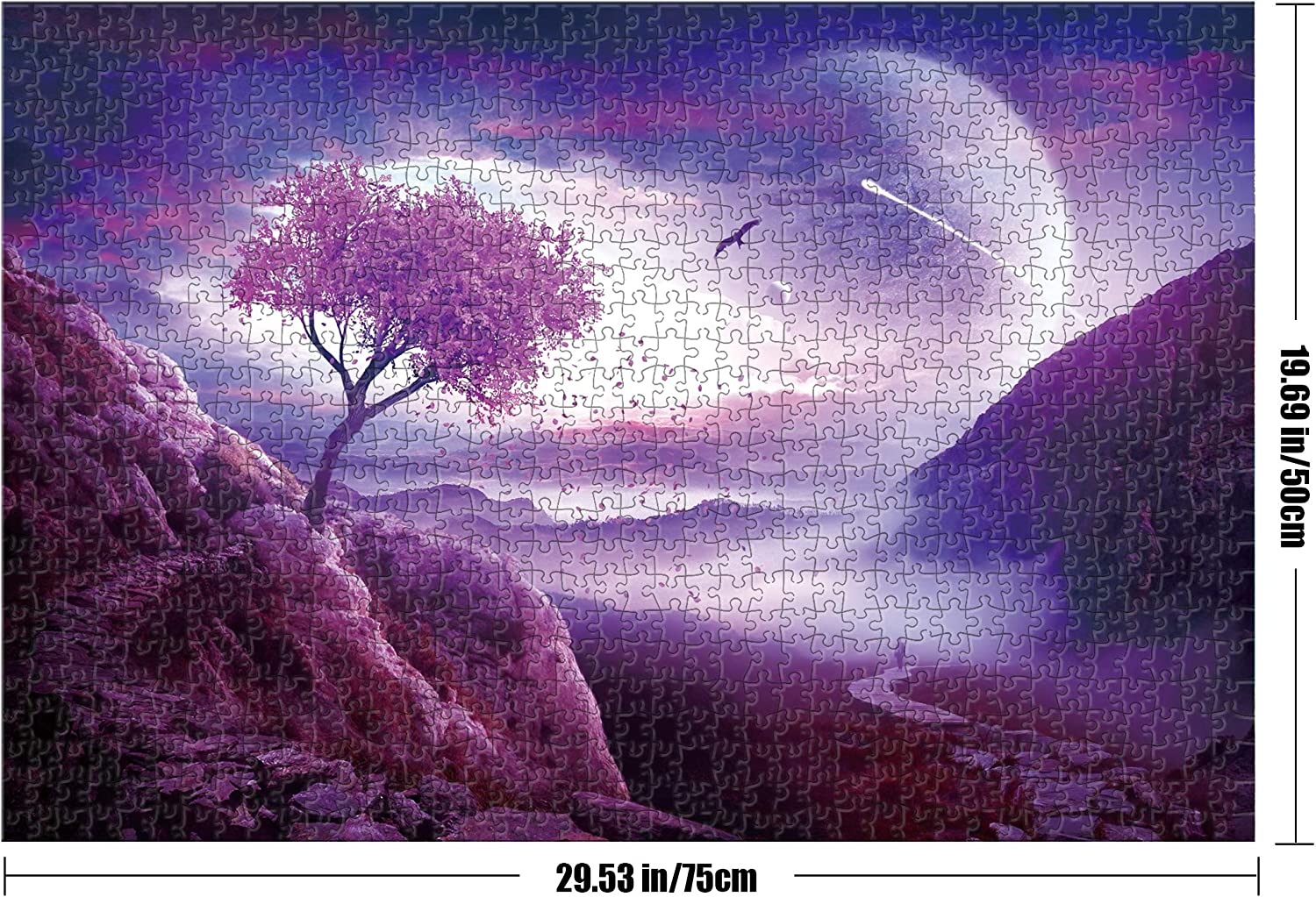 Tektalk 1000 Piece Puzzle Jigsaw Puzzle for Teens /& Adults-Ultimate Journey