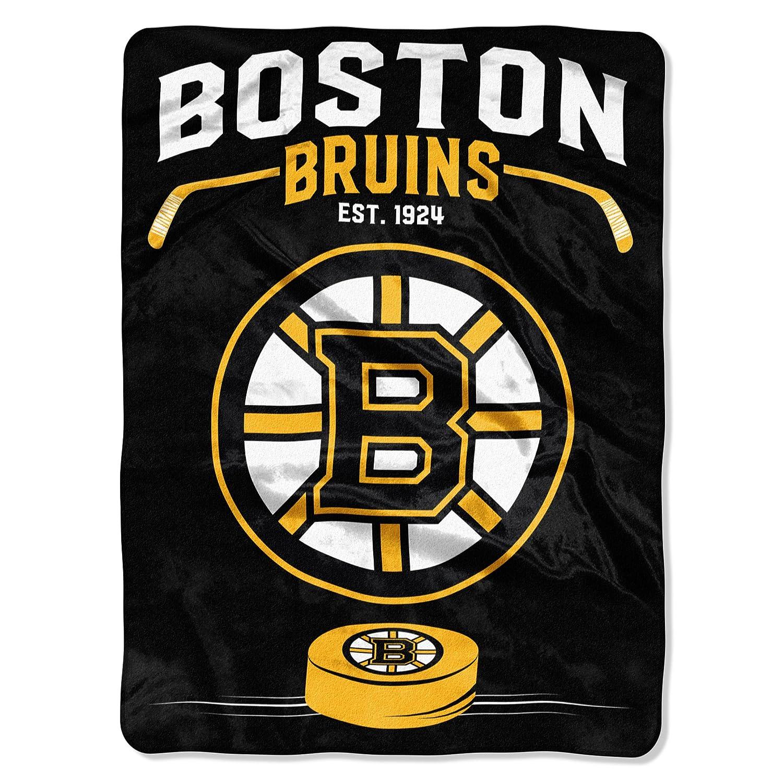 """Officially Licensed NHL """"Inspired"""" Plush Raschel Throw Blanket"""