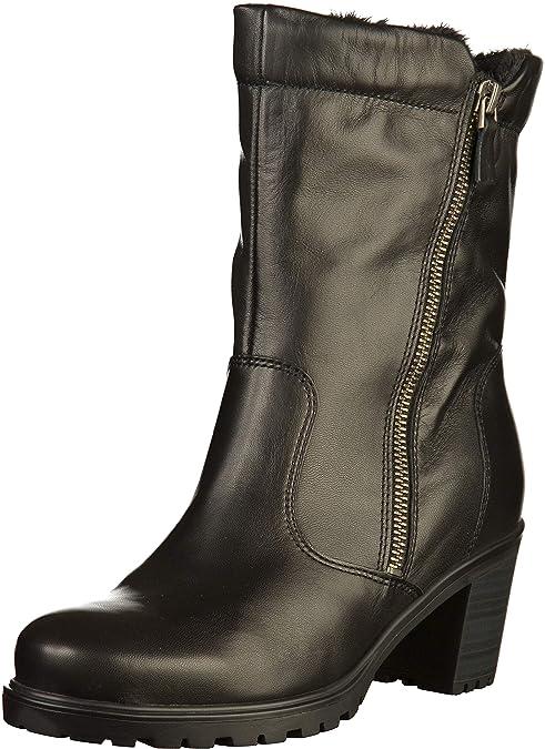 Details zu Ara Mantova Damen Stiefeletten Boots Winterstiefel 12 47348 61 Schwarz Neu