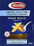 Barilla Pâtes Penne Rigate sans Gluten 400 g
