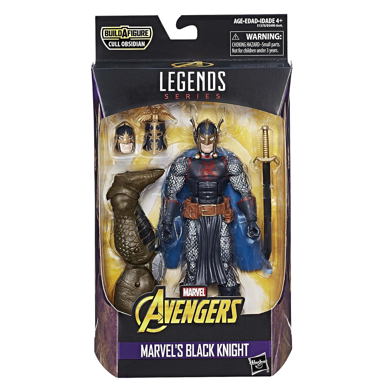 Avengers Marvel Legends Series 6-inch Marvel/'s Black Knight Hasbro E1578