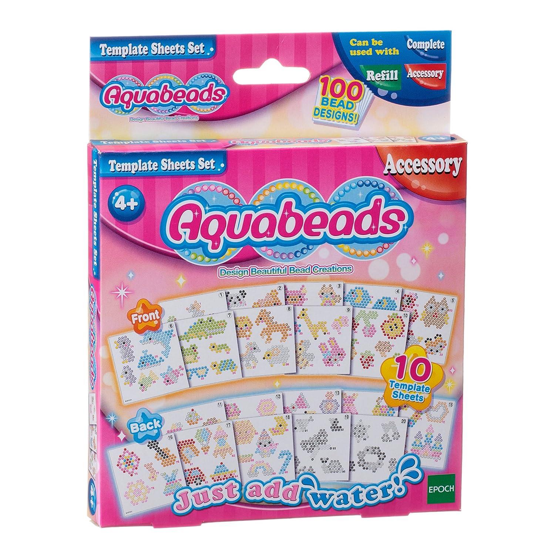 Aquabeads Template Sheets Set ToyMarket 79268