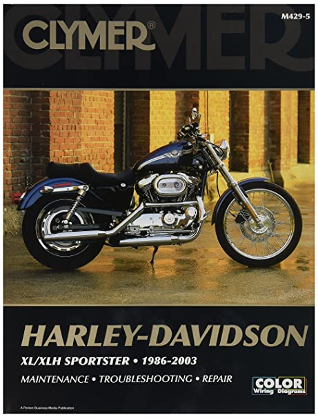 amazon com clymer harley davidson xl sportster 04 06 manual m427 rh amazon com 1997 harley davidson sportster service manual 1997 Sportster Harley-Davidson Model 1200 Black